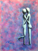 Couple Kissing I